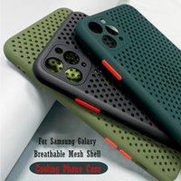 Cell Phone Cases Capa para telefone com respiração, compatível for Samsung galaxy s21, s20 ultra plus, a10s, a20s, a21s, m11, m21, m31, m31, m31s, a01, a31, a41, a51, a71, m30s