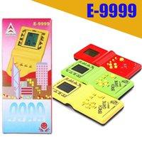 Classic Tetris Main Nostalgic Host Jeux joueurs de jeu électronique Jeux de Jouets Console pour enfants Jeux de brique amusante jeu Riddle Handheld E9999
