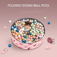 Pool & Accessories Kids Swimming Folding Ocean Ball Drypool Baby Toy Oxford Cloth Plastic Outdoor Home Toys Children Birthday Party