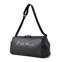 Men Duffel Bags Women Sports Gym Travel Training Fitness Handbag Yoga Large Capcity Mat Outdoor Waterproof Nylon Solid Color Zipper Bag 0.41Kg Size: 37cmx18cmx20cm