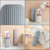 Caja de cepillo de dientes viajando PP PP Caja de cepillo de dientes Multifusión Contenedor de cepillo de dientes para viajar Camping1 22 V2