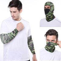Cycling Caps & Masks Outdoor Sport Bandana Military Camo Tactical Balaclava Tube Scarf Fishing Hiking Face Mask Neck Gaiter Cover Headband
