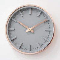 Round Office Silent Glass Wall Clock Modern Design Luxury Nordic Creative Living Room Reloj Pared Home Decor BW50WC Clocks
