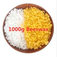 1000g Beeswax Wax Candles Making Supplies 100% No Added Soy Wax Lipstick DIY Material yellow and white beeswax L0323
