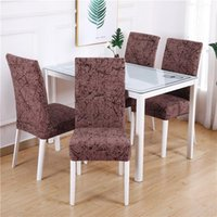 Dining Chair Covers Banquet Wedding Printing Slipcover Offic...