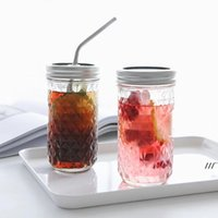 jar glass cups Mugs Jam Vegetable Salad Food savers storage containers Sealed canning juice engraved bottles sea shipping AHB6938