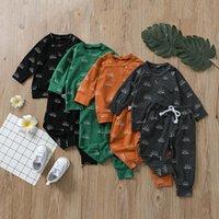 kids Clothing Sets boys outfits Children Sun print Tops+pants 2pcs set Spring Autumn fashion Boutique baby clothes Z3825
