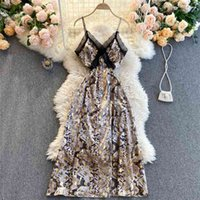Satin Strap Dress For Women Summer Backless Sexy Elegant Evening Floral Lace Midi Robe Prom es Vestido 210513