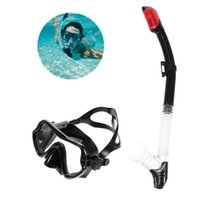Diving Masks Goggles Free Scuba Full Face Mask Wet Tube Kit Snorkeling Equipment Ultra Low Volume Free-Dive For Adult