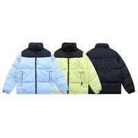 2021 Лицо Высочайшее Качество Северо-Даун Хлопчатобумажная куртка Пальто наружной мужской и женской моды Повседневная Корейский Теплый Подпись High Street Tops 1996 TNF