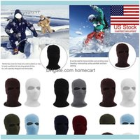 Masks Festive Party Supplies Home & Gardennovelty 2Holes Winter Warm Face Er Knit Ski Hat Shield Beanie Cap Aliens Full Mask Creative Outdoo