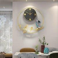 Wall Clocks Simple Clock Living Room Note Household Fashion Watch Light Luxury Modern Nordic Restaurant Silent Quartz