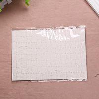 Sublimação Puzzle A5 Tamanho DIY Produtos Sublimações Blanks Blanks Quebra-cabeças Branco Jigsaw 80 pcs Calor Impressão de impressão Handmade Gift DWB6695