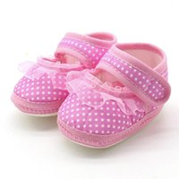 First Walkers Born Princess Soft Sole Girl Shoes Anti-slip For Party Baby Girls Crib Prewalkers 0-12 Month