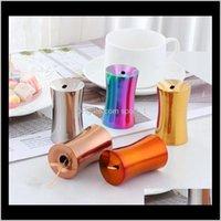 Scatola in acciaio inox 7 colori Stile europeo Sleek Highend Mini Holder Home Desktop Darchpicks Extinguishers A3Zsw Holders LTXKP