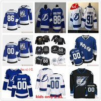 Personalizado retro retro hombre mujeres juventud niños hockey jerseys 91 Steven Stamkos 86 Nikita Kucherov 21 Brayden Point Victor Hedman Blake Coleman Barclay Goodrow