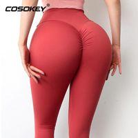 مثير اليوغا السراويل النساء طماق للياقة البدنية النايلون عالية الخصر طويل الورك مرونة رفع الجوارب رياضة الملابس الزي