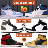 2021 1 ثانية أحذية كرة السلة مع كيكين الرجال النساء منتصف ضوء الدخان رمادي شيكاغو تو تويست حذاء رياضة منتصف الولايات المتحدة الأمريكية متعدد الألوان المدربين