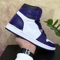 2021 Top Calidad Jumpman 1 Panda Phantom Baloncesto Zapato de baloncesto intrépido Obsidian UND Torch Hare Game Womens Mens Sneakers Sport Zapatos con caja