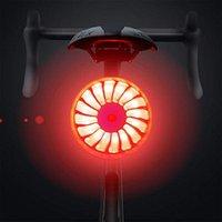 Smart Bike Hecklicht wasserdicht USB wiederaufladbare intelligente Wahrnehmung Fahrrad Heck-Rücklicht-Bausätze