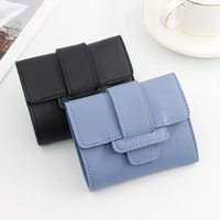 Wallets Korean Version Of The Ladies Wallet Short Candy Color Drawstring Purse Student Multifunctional