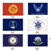 USA-Flaggen US-Armee-Banner AirForce Marine Corp Navy Besty Ross-Flagge Tunt tritt auf mich Flaggen Thin XXX-Linie Flag OWF5832