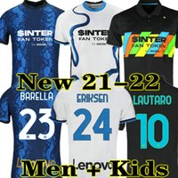 LUKAKU LAUTARO Martinez ERIKSEN Inter MILAN 2020 2021 2022 camisa de futebol de Milão SENSI campeão jerseys 20 21 22 camisa de jogo de futebol