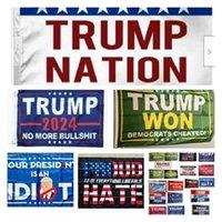 Donald-Trump Flags 3x5 ft 2024 Make America Florida Desantis Flag USA President election Trump Won Banner Flags T2I52407