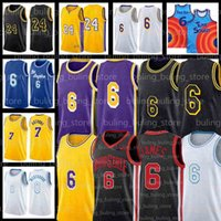 "6 Lebron 23 James Jersey Russell 0 Westbrook كرة السلة Los Carmelo 7 Anthony Angeles ""Lakers"" Men Kids Kuzma City Black Kyle Davis 3 Mamba Jerseys"