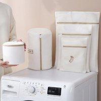 Laundry Bags 6Pcs Set Bag Bathroom Washing Machine Storage Mesh Thickening Bra Home Accessories Embroidery