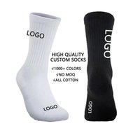 Пользовательские носки с логотипом Picture Photo Compandized Unisex Funny Crew Support Sports Sock для мужчин