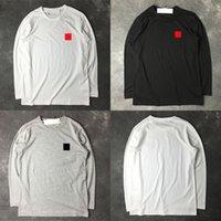 Camisetas para hombres Camisetas de algodón de manga larga de alta calidad Sudadera de alta calidad Comes Red Heart des Hip Hop Garcons Hombres Streetwear Causal Base Camisa para hombre Ropa Tops Tops Tops