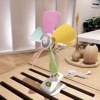 Electric Fans 10-13inch Electricla Silent Fan Clip On Table Desktop Bed Air Cooling For Home Office Bedroom Small Appliance