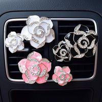2 шт. Автомобильный освежитель воздуха сухой цветок кондиционер парфюмерный клип ароматерапевтический аромат диффузор автопродукции автомобильные парфюмерии
