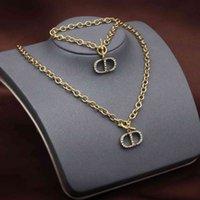 70%OFF 21 year new necklace Dijia net red high version CD letter tassel Star Bracelet YD1G