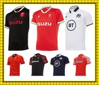 Commercio all'ingrosso 2021 Galles Scotland Rugby Jersey 20 21 Casa Away Camicia scozzese gallese MAILLOT Camiseta Maglia Taglia S-5X