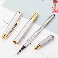 Ballpoint Pens Buena Calidad Metal Business Signature Pen Estudiante Profesor Escolar Escuela Oficina Publicidad Publicidad Q9AN