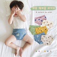 Kid Underwear Calcinha de Algodão Calções Calções Menina Menina Boxers Cartoons Bebê Curtas Curtas Fashion Children Couthpants 2021