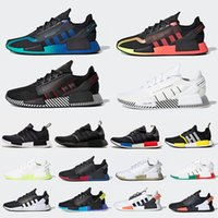 Red Marble NMD R1 Mens Running Shoes Military Green Oreo atmos Bred Tri-Color OG Classic Men Women Thunder Sports Trainer Sneakers 36-45