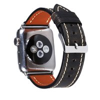 Brand Design for Apple Smart Straps iWatch Leather Sport Strap 38 40 44mm Watch Band