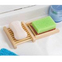 جديد منتجات الحمام المنزلية الخشب الطبيعي لوحة الصابون الإبداعية تخزين حاوية حوض الاستحمام المنتجات بالجملة