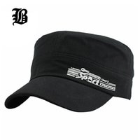 [FLB] Klassische Vintage Unisex Frauen Männer Müdigkeit Armee Mütze Stoff Hüte Für Sun Casual Military Justable Hat F403 Wide Rempel