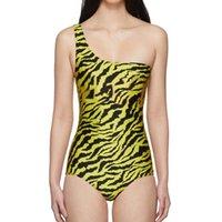 2021 Womens biquíni verão mulher letra imprime maiô senhora sexy moda swimwear push up maduro envoltório beachwear backless halter cinta biquni