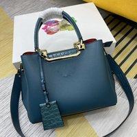 Designers bolsas mulheres luxurys couro genuíno pequeno ombro quadrado casual moda clássico all-match crossbody bolsa 66152