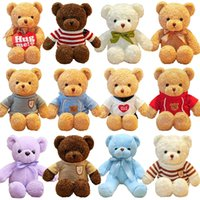 21 Styles Teddy Bear With Sweater Stuffed Animals Plush Toys Doll Baby Kids Girlfriends Birthday Gifts