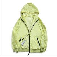 Высокое качество TopStoney Konng Gong мужская пружина и летняя тонкая куртка мода бренд пальто открытый солнцезащитный ветровка солнцезащитный крем одежда водонепроницаемый размер M-XXL