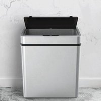 자동 압력 지능형 유도 모션 센서 주방 쓰레기는 넓은 폐기물 쓰레기통 쓰레기통을 열 수 있습니다.