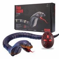 جديد واقعية التحكم عن كوبرا rc الحيوان الأفعى لعبة الأطفال عالية محاكاة كوبرا راديو التحكم عن بعد 210326