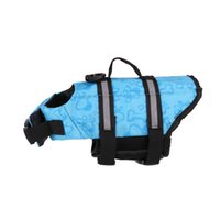 Dog Apparel Clean up pet life jacket large golden hair pull outdoor swimming suit in summer
