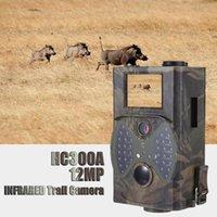 기본 사냥 트레일 카메라 HC300A 12MP 야간 투시경 1080P 비디오 야생 동물 캠 POS 트랩 감시 카메라